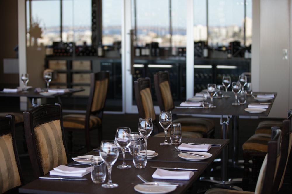 WA Club table setting