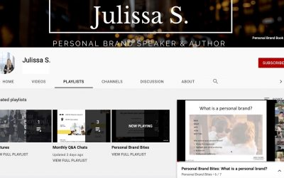 An introduction to Personal Branding – Video Resources